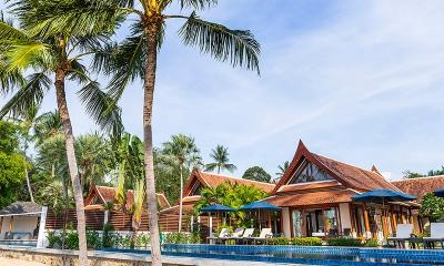Tawantok Beach Villas Building Area | Lipa Noi, Koh Samui
