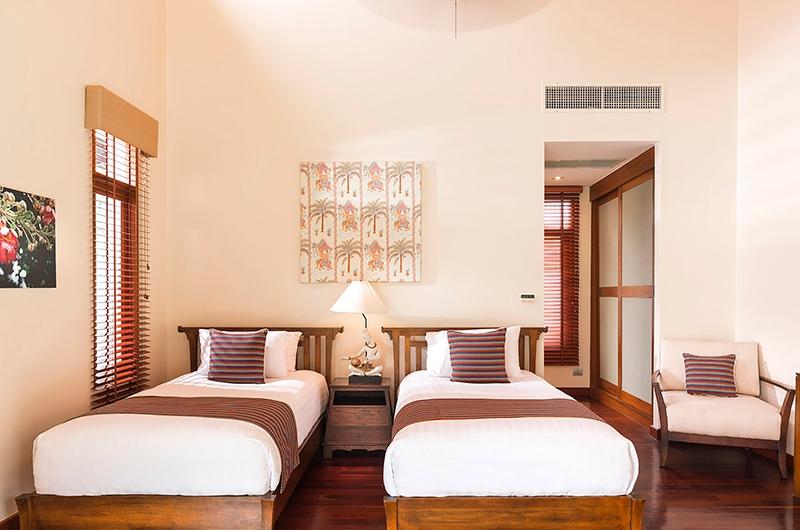 Tawantok Beach Villas Twin Bedroom | Lipa Noi, Koh Samui