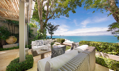The Headland Villa 1 Outdoor Sofa | Taling Ngam, Koh Samui