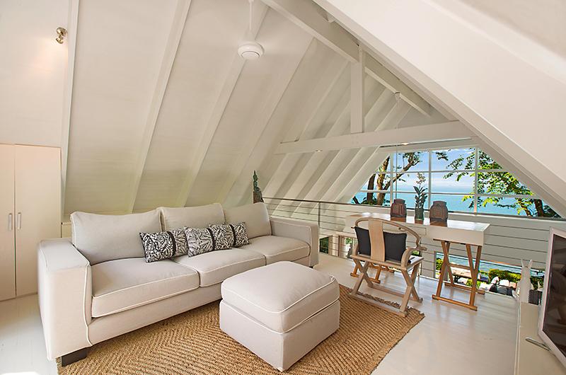 The Headland Villa 1 Indoor Seating | Taling Ngam, Koh Samui