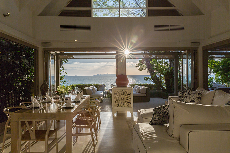 The Headland Villa 1 Living Room | Taling Ngam, Koh Samui
