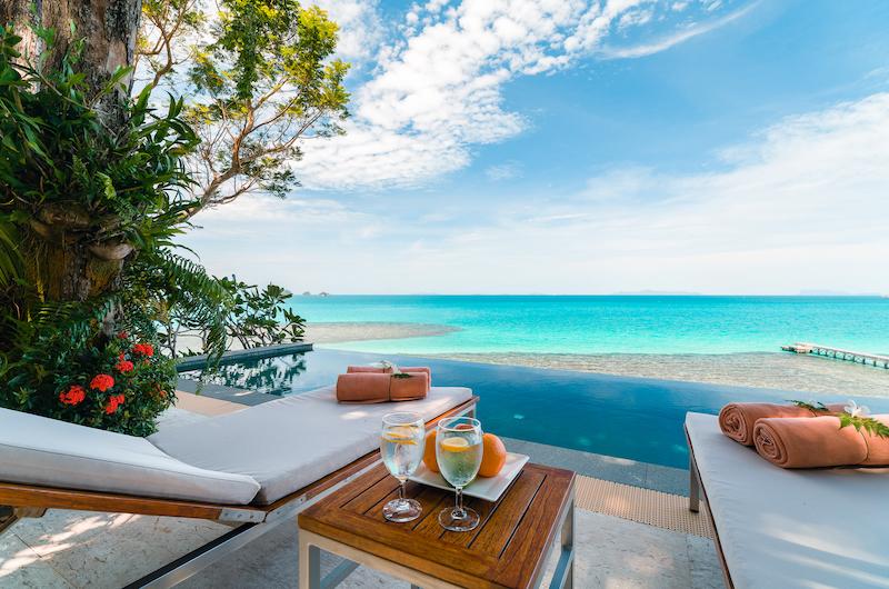 The Headland Villa 3 Sun Deck with Ocean Views | Taling Ngam, Koh Samui