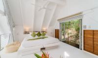 The Headland Villa 3 Mezzanine Level Bedroom | Taling Ngam, Koh Samui