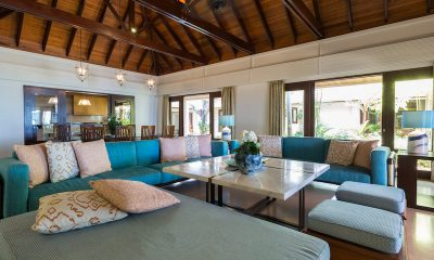 Villa Acacia Living Area | Maenam, Koh Samui