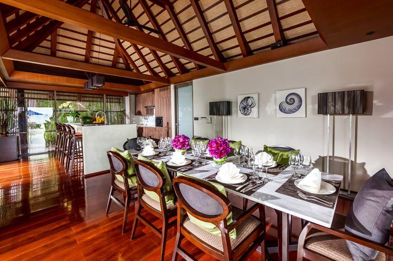 Villa Akatsuki Dining Area   Lipa Noi, Koh Samui