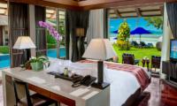 Villa Akatsuki Bedroom with Sea View | Lipa Noi, Koh Samui