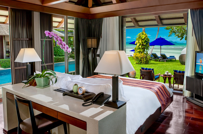 Villa Akatsuki Bedroom with Sea View   Lipa Noi, Koh Samui