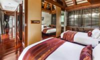 Villa Akatsuki Twin Bedroom View | Lipa Noi, Koh Samui