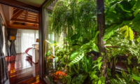 Villa Akatsuki Bedroom with Garden View | Lipa Noi, Koh Samui