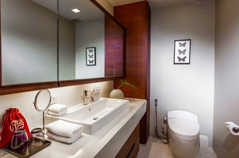 Villa Akatsuki Bathroom One   Lipa Noi, Koh Samui