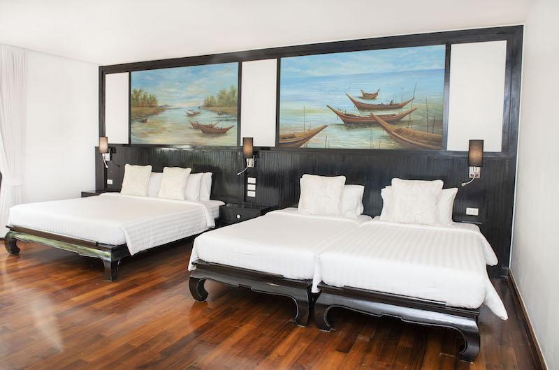 Villa Champak Bedrooms Area | Maenam, Koh Samui