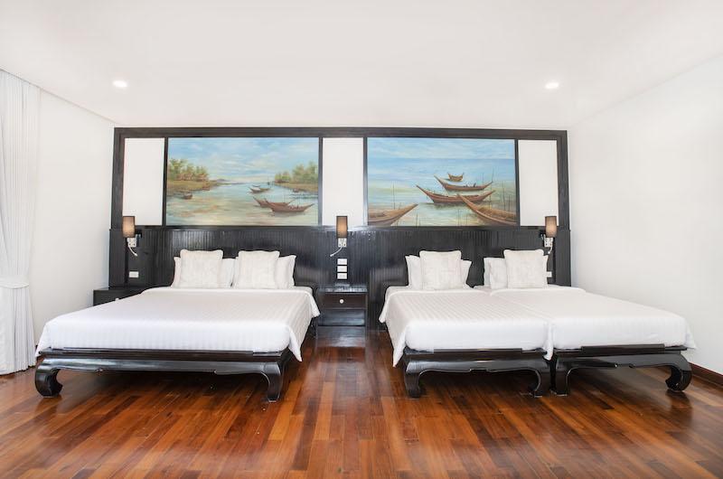 Villa Champak Bedrooms | Maenam, Koh Samui