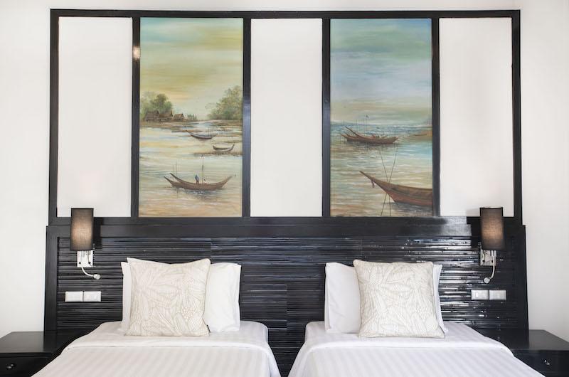 Villa Champak Twin Bed | Maenam, Koh Samui