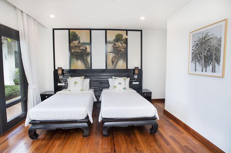 Villa Champak Twin Bedroom Side | Maenam, Koh Samui
