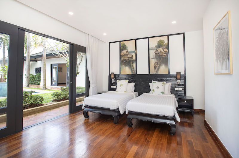Villa Champak Twin Bedroom | Maenam, Koh Samui
