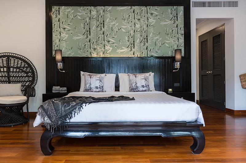 Villa Champak Master Bedroom | Maenam, Koh Samui