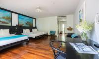 Villa Champak Bedroom One Area | Maenam, Koh Samui