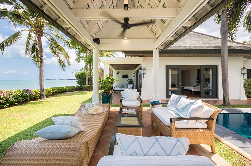 Villa Champak Lounge Area | Maenam, Koh Samui