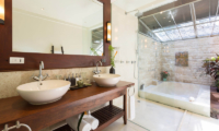 Waimarie His and Hers Bathroom | Lipa Noi, Koh Samui