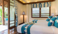 Waimarie Bedroom with Twin Beds | Lipa Noi, Koh Samui