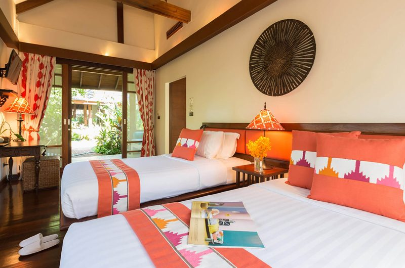 Waimarie Twin Bedroom with Study Table | Lipa Noi, Koh Samui