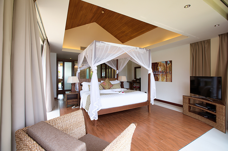 Baan Leelawadee Bedroom with Four Poster Bed | Bophut, Koh Samui