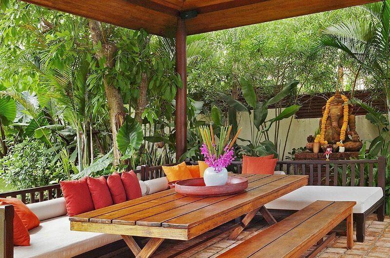 Baan Rattana Thep Outdoor Dining | Lipa Noi, Koh Samui