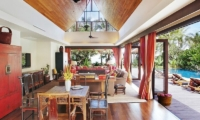 Baan Rattana Thep Indoor Living Area | Lipa Noi, Koh Samui