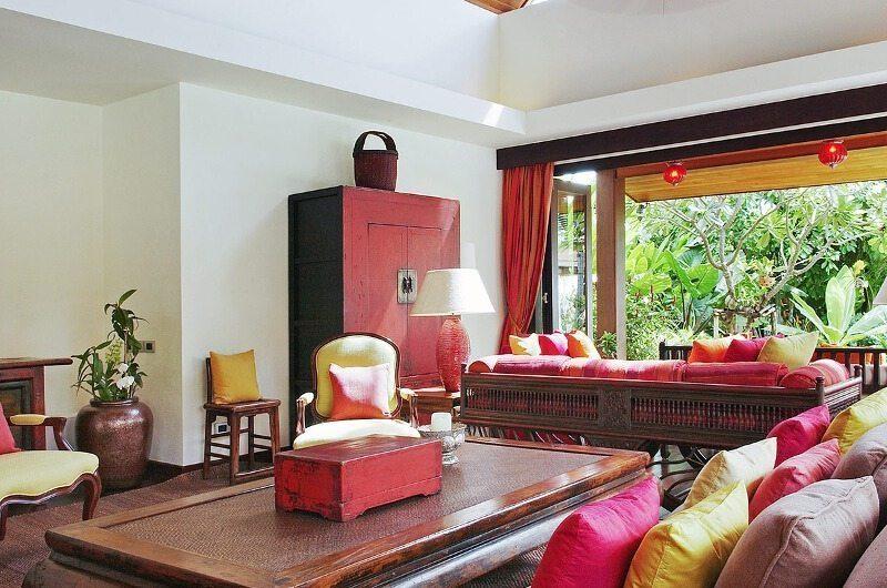 Baan Rattana Thep Living Area | Lipa Noi, Koh Samui