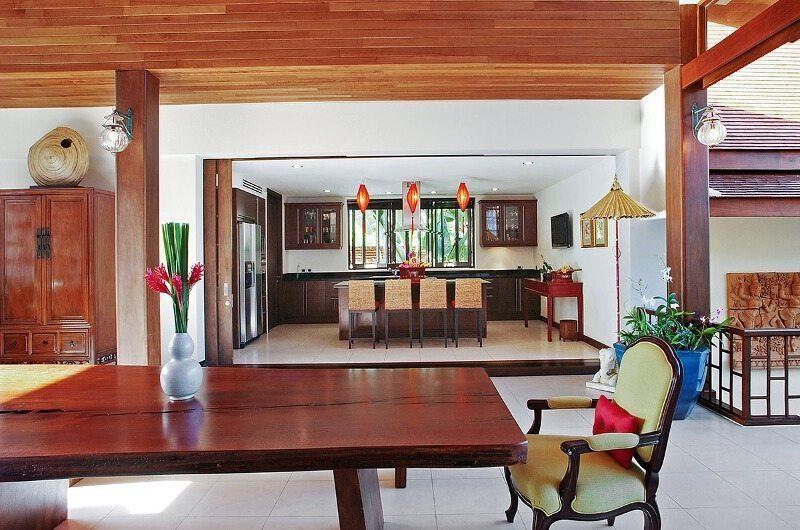 Baan Rattana Thep Kitchen and Dining Area | Lipa Noi, Koh Samui