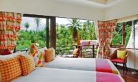 Baan Rattana Thep Twin Bedroom | Lipa Noi, Koh Samui