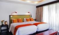 Baan Rattana Thep Bedroom with Twin Beds | Lipa Noi, Koh Samui