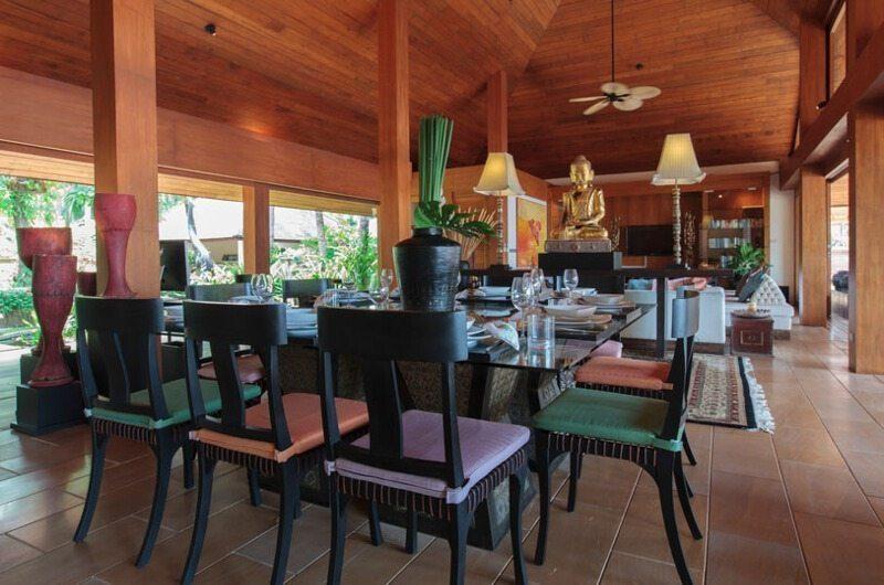 Baan Wanora Living and Dining Area | Laem Sor, Koh Samui
