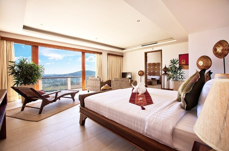 Ban Lealay King Size Bed with View | Bophut, Koh Samui