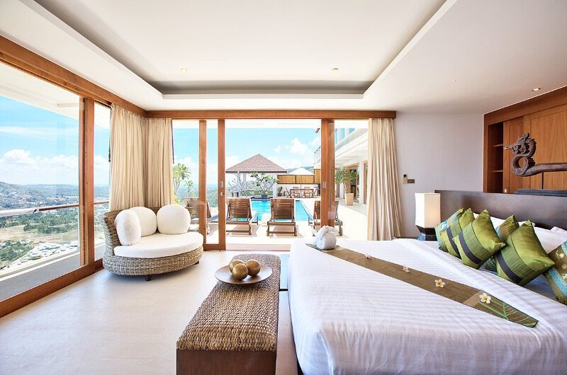 Ban Lealay Bedroom with Pool View | Bophut, Koh Samui