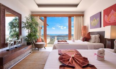 Ban Lealay Twin Bedroom View | Bophut, Koh Samui