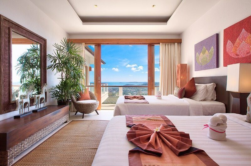 Ban Lealay Twin Bedroom View | Bophut, Koh Samui