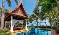 Bougainvillea Villa Pool Bale | Maenam, Koh Samui