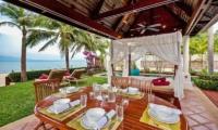 Bougainvillea Villa Pool Side Dining | Maenam, Koh Samui