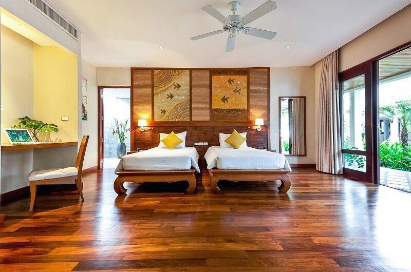 Bougainvillea Villa Twin Bedroom | Maenam, Koh Samui