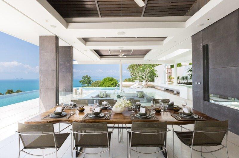 Celadon Open Plan Dining Area | Koh Samui, Thailand