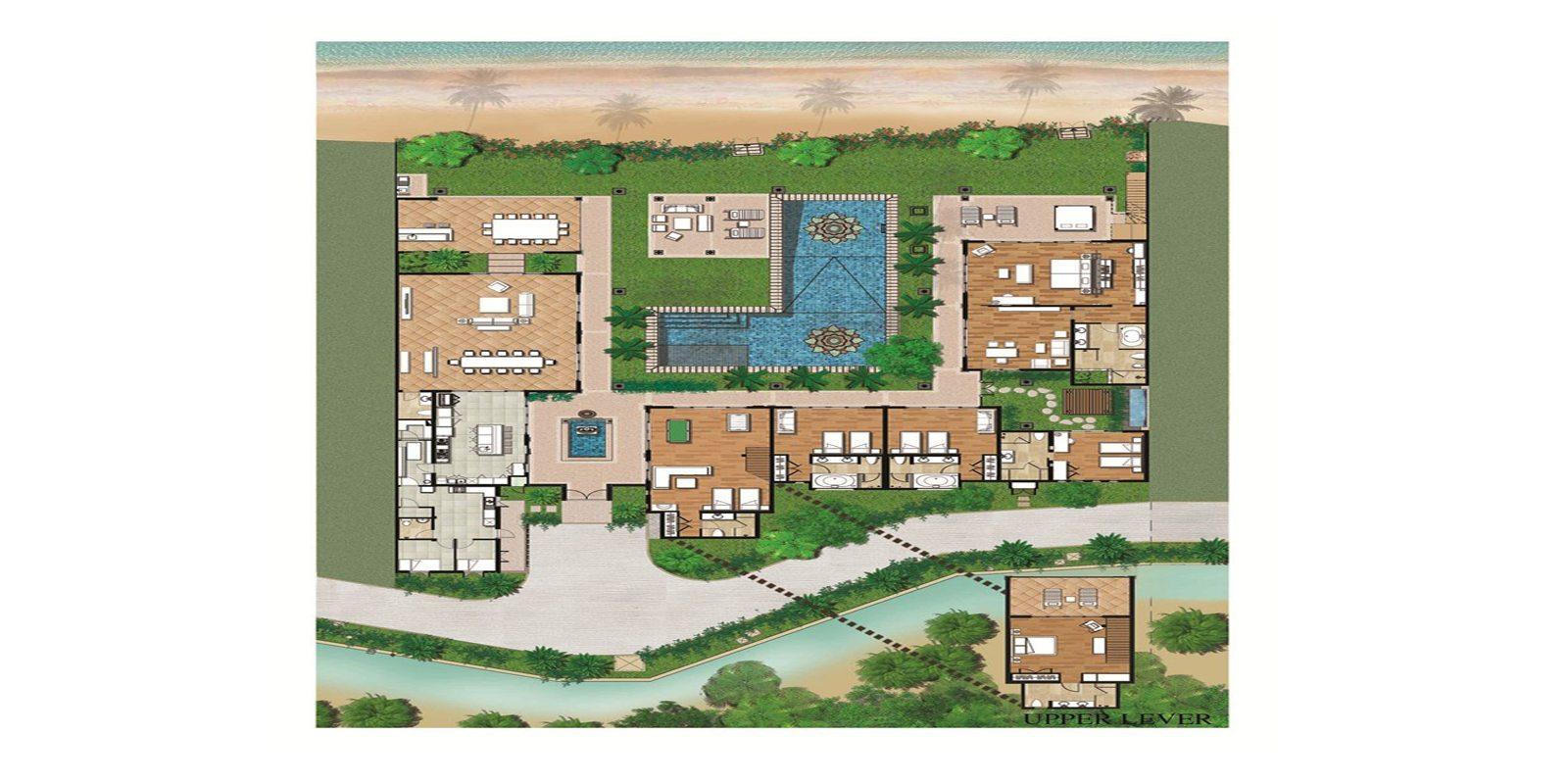 Villa Lotus Floorplan | Maenam, Koh Samui
