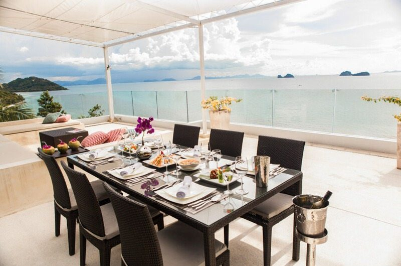 Villa Beige Open Plan Dining Area | Taling Ngam, Koh Samui
