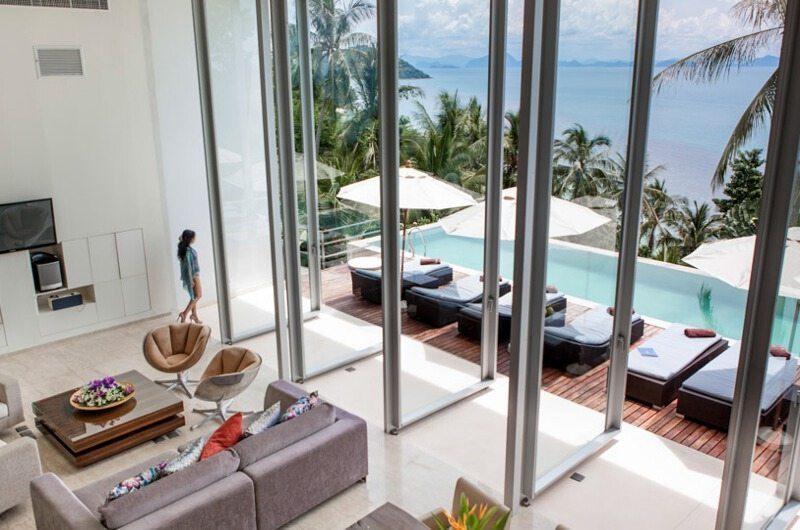 Villa Beige Open Plan Living Area | Taling Ngam, Koh Samui