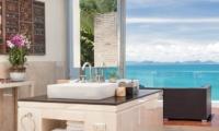 Villa Beige Bathroom Area | Taling Ngam, Koh Samui