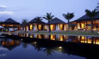 Jivana Beach Villas Ananda At Jivana Night View | Natai, Phang Nga