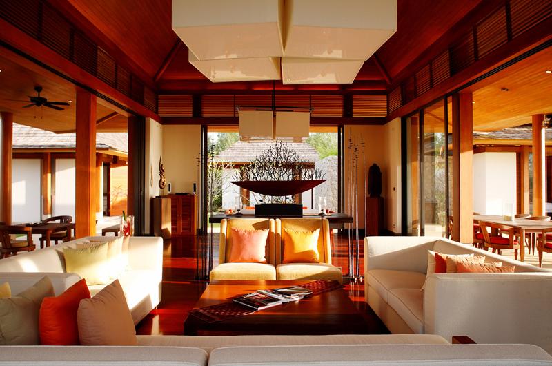 Jivana Beach Villas Jia At Jivana Living Area   Natai, Phang Nga