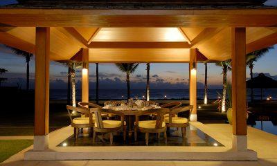 Jivana Beach Villas Jia At Jivana Dining with Pool View | Natai, Phang Nga
