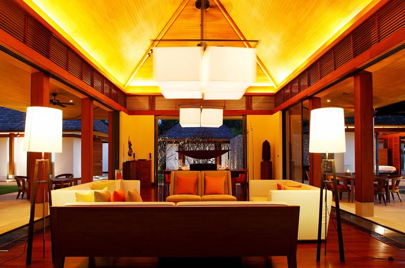 Jivana Beach Villas Jia At Jivana Indoor Living Area   Natai, Phang Nga