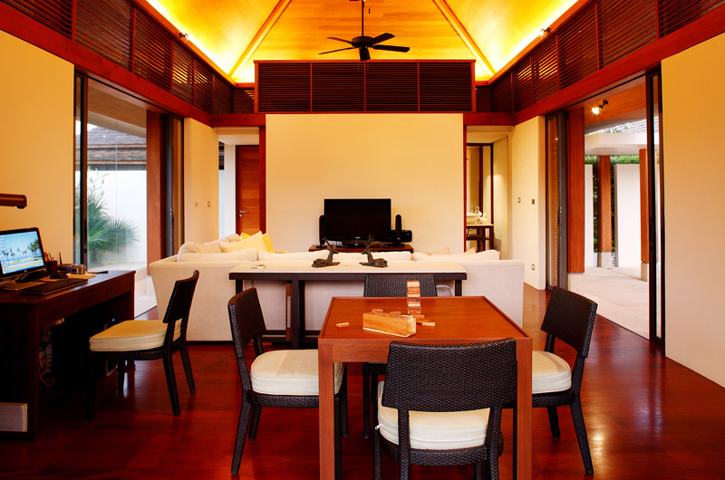 Jivana Beach Villas Jia At Jivana Living and Dining Area   Natai, Phang Nga